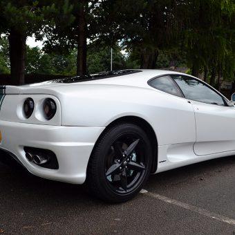 Ferrari 360 Satin Pearl Rear Angled