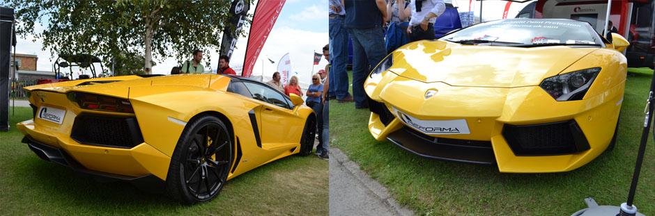 Great Yorkshire Show Lamborghini Aventador
