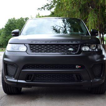 Range Rover Sport SVR Satin Black
