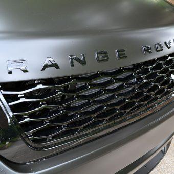 Range Rover Sport SVR Satin Black Bonnet