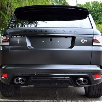Range Rover Sport SVR Satin Black Rear