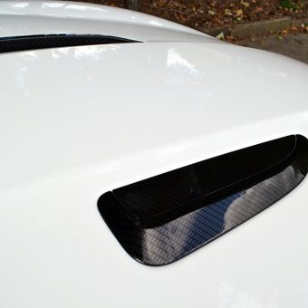 Jaguar F Type Carbon Bonnet Vents