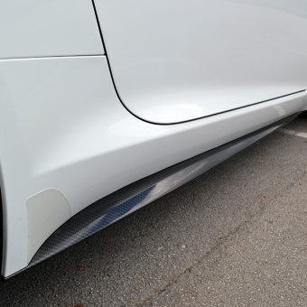 Jaguar F Type Carbon Side Skirts
