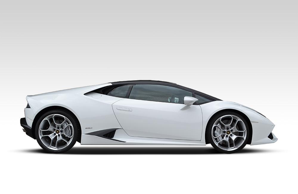 After-Lamborghini Huracan - Matte Black Roof & Detailing