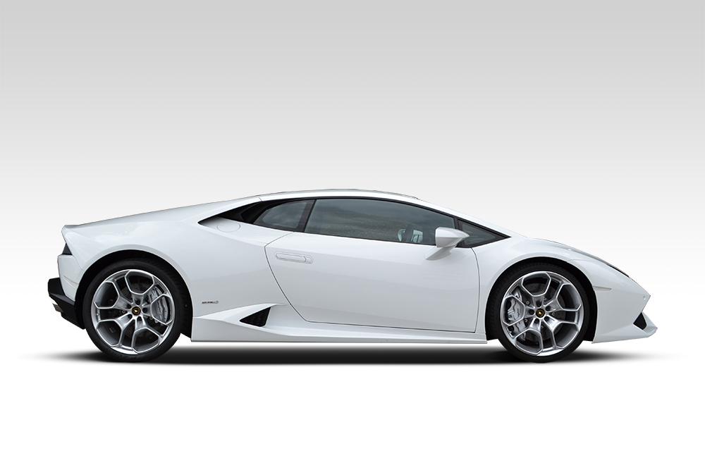 Before-Lamborghini Huracan - Matte Black Roof & Detailing