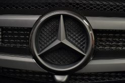 Mercedes GL Matte Black Vossen Front Badge