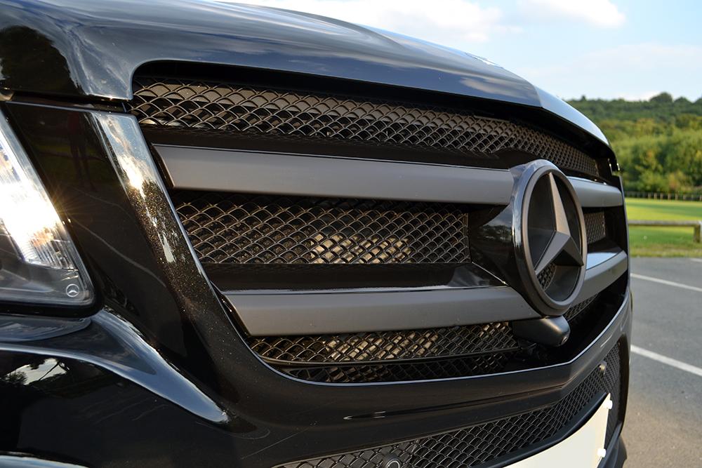 Mercedes Gl De Chroming And Vossen Wheels Reforma Uk