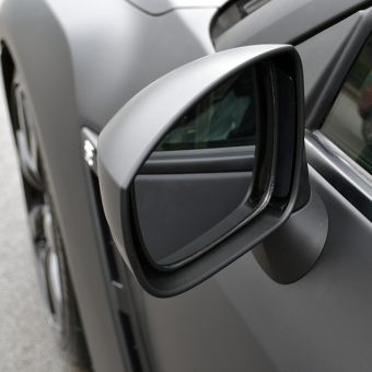 Nissan GTR Matte Black Wrap Wing Mirror