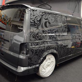 Reforma VW Transporter Wrap Pattern