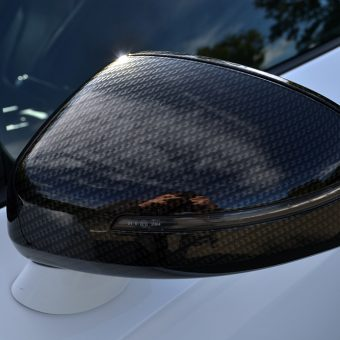 Audi R8 Roof Wrap and Detailing Mirrors