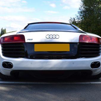 Audi R8 Detailing Carbon Rear