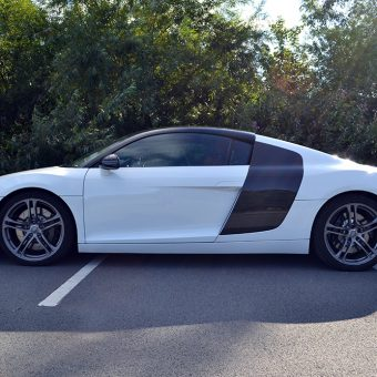 Audi R8 Detailing Carbon SIde