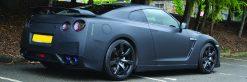 Nissan GTR Matte Black