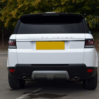 Range Rover Vogue Gloss White Rear