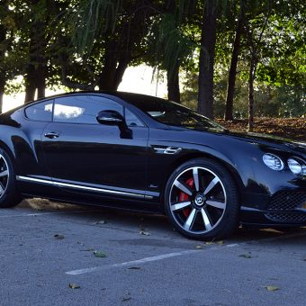 Bentley Continental GT De-Chrome Front Angled