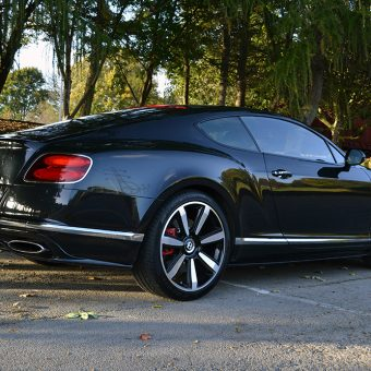Bentley Continental GT De-Chrome Rear Angled