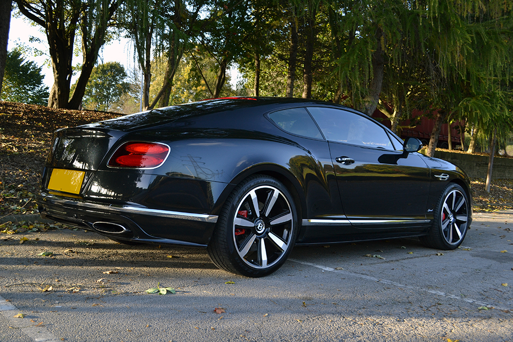 Bentley Continental GT - Dechromed Window Trim