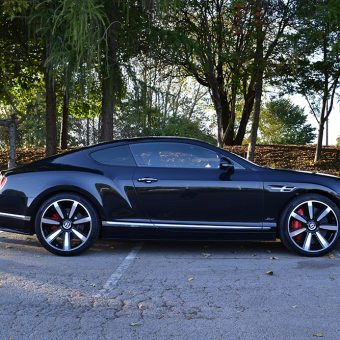 Bentley Continental GT De-Chrome Side