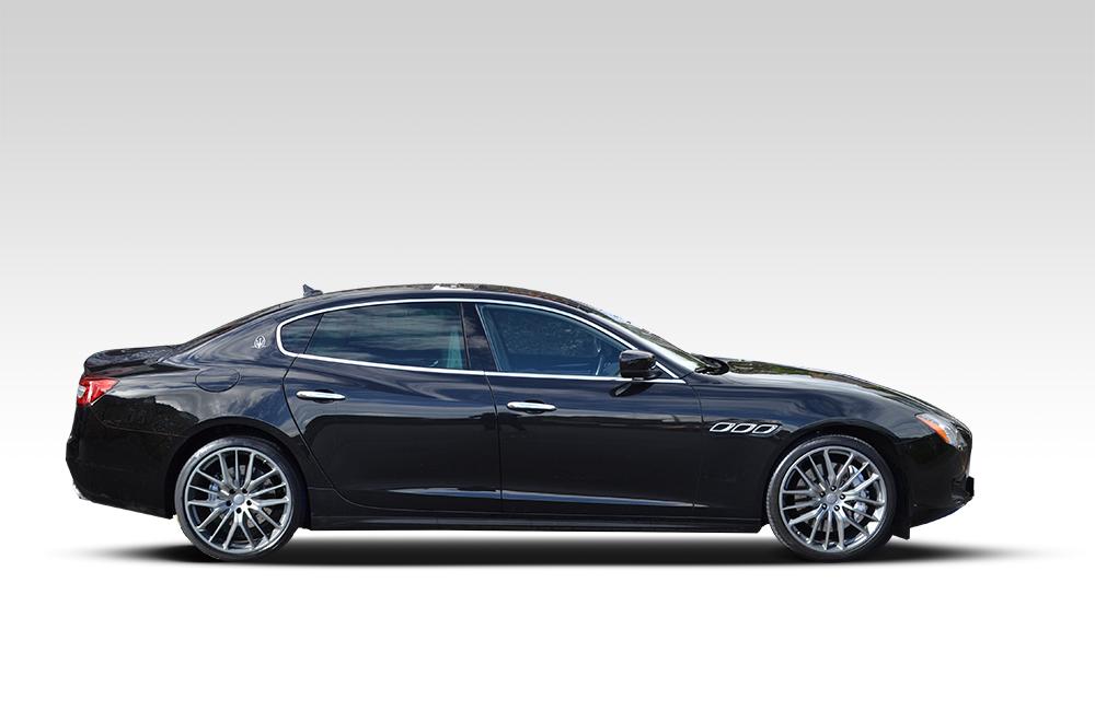 Before-Maserati Quattroporte Wrap