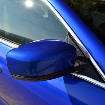 Maserati Quattroporte Wrapped 3M Cosmic Blue Mirrors