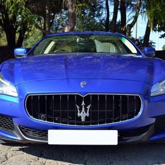 Maserati Quattroporte Wrapped Front