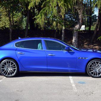 Maserati Quattroporte Wrapped Side