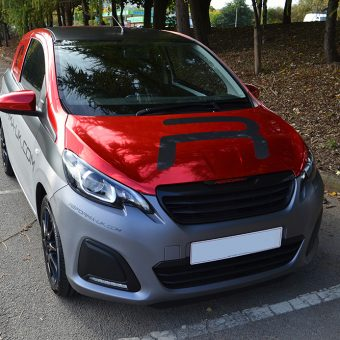 Peugeot 108 Reforma Front Angled