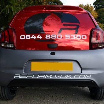 Peugeot 108 Reforma Rear