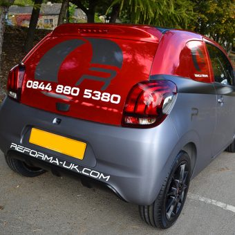 Peugeot 108 Reforma Rear Angled Side