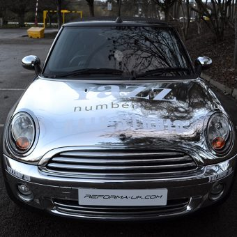 Mini Cabriolet Yazz Hair Chrome Front