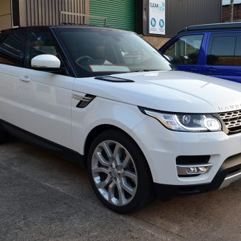 Range Rover Sport Roof Wrap Front