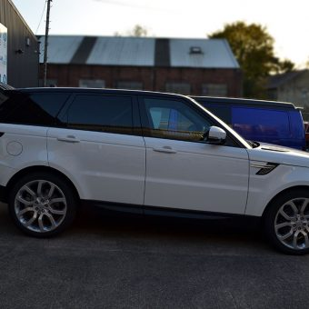 Range Rover Sport Roof Wrap Side
