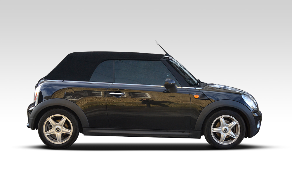 Before-Yazz Mini Chrome Wrap