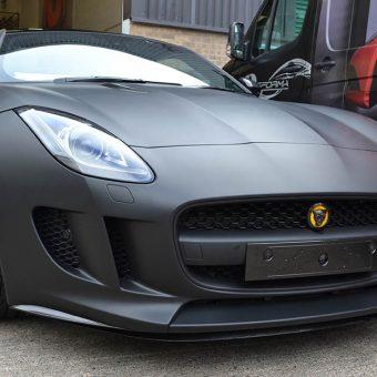 Jaguar F-Type Badge Yellow