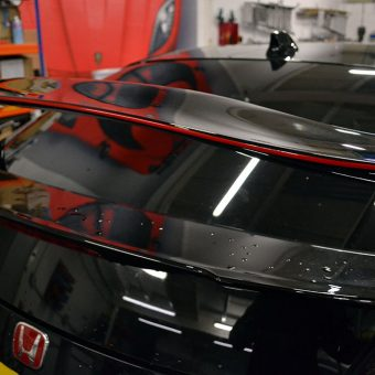 Civic Type R 2015 Side Graphics Spoiler