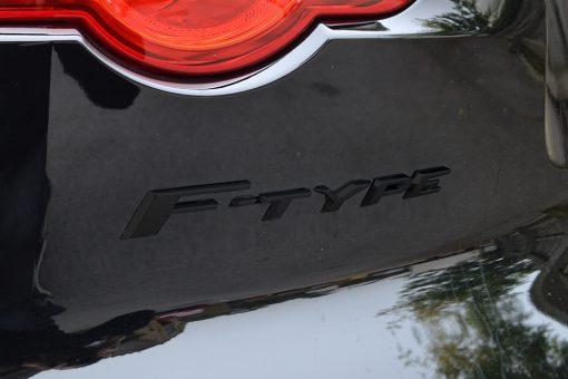 Jaguar F-Type Gloss Black Badge