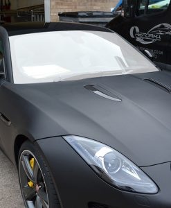 Jaguar F-Type Windscreen Protection Film
