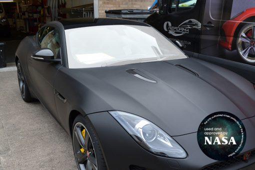 Jaguar F-Type Windscreen Protection Film