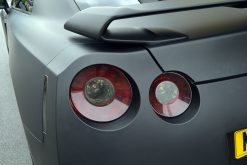Nissan GTR Matte Black Wrap Tinted Lights