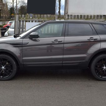 Range Rover Evoque Roof Wrap Side