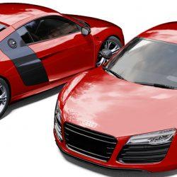 Audi R8 3M Dragon Fire Red Wrap