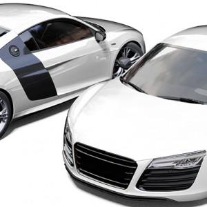Audi R8 3M Gloss White