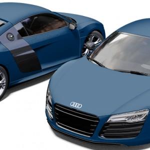 Audi R8 3M Satin Ocean Shimmer Wrap