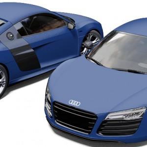 Audi R8 Avery Matte Brilliant Blue