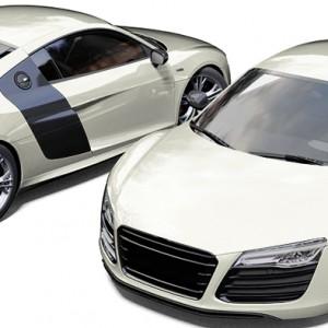 Audi R8 Avery Pearl White Wrap