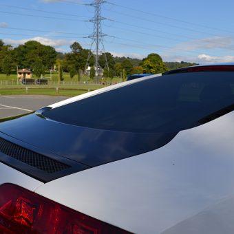 Audi R8 Tinted Window