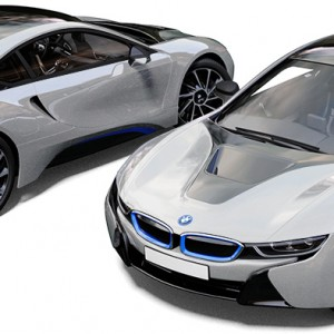 BMW i8 Ionic Silver Quick Silver