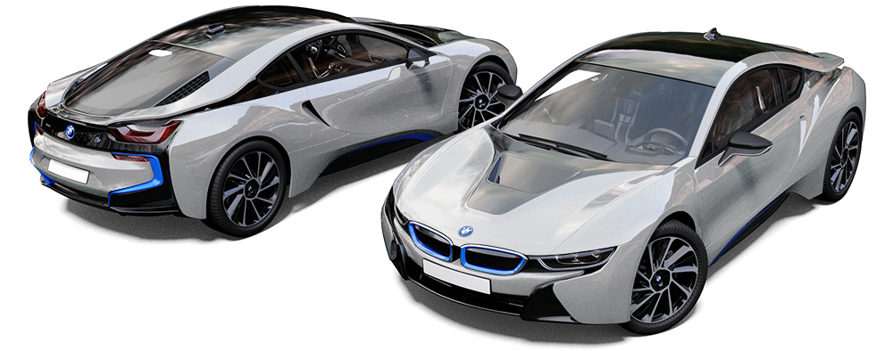 Bmw I8 Ionic Silver Quick Silver Reforma Uk