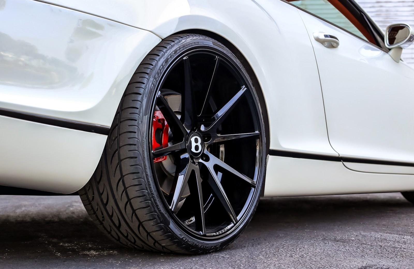 Vossen Vfs1 Alloy Wheels For Bentley Continental Gt