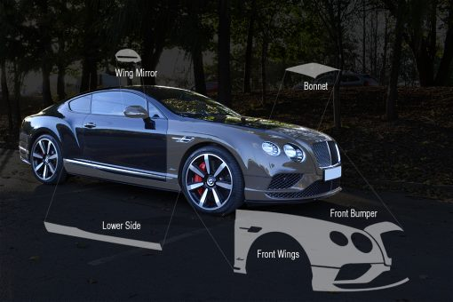 Bentley Continental Paint Protection